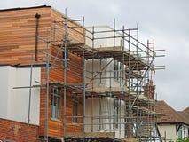 Nuova costruzione delle case Fotografie Stock Libere da Diritti