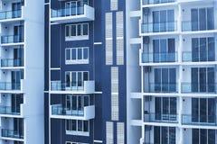 Nuova costruzione di appartamenti Fotografie Stock Libere da Diritti