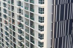 Nuova costruzione di appartamenti Fotografia Stock