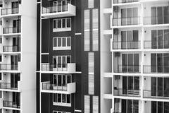 Nuova costruzione di appartamenti Immagini Stock Libere da Diritti
