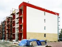 Nuova costruzione di appartamenti tipica di economia Fotografie Stock