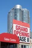 Nuova costruzione di appartamento Immagine Stock