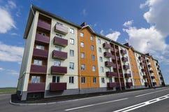 Nuova costruzione di appartamento Fotografia Stock