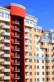 Nuova costruzione di appartamento Fotografie Stock
