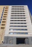 Nuova costruzione di appartamento residenziale Fotografia Stock