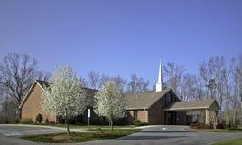 Nuova costruzione di chiesa Immagine Stock