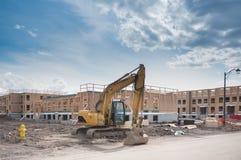 Nuova costruzione di edifici Fotografie Stock
