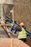 Nuova costruzione di ponte Immagini Stock