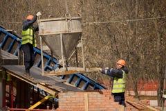Nuova costruzione di ponte Fotografia Stock Libera da Diritti