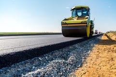 Nuova costruzione di strade Immagini Stock