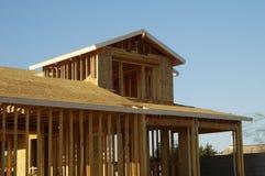 Nuova costruzione domestica Immagini Stock Libere da Diritti