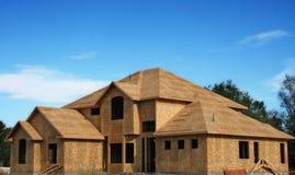 Nuova costruzione domestica Immagini Stock