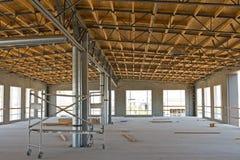 Nuova costruzione industriale Immagine Stock