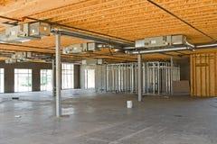 Nuova costruzione industriale Fotografie Stock