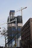 Nuova costruzione, Milwaukee, Wisconsin Fotografia Stock Libera da Diritti