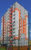 Nuova costruzione nella città Fotografia Stock