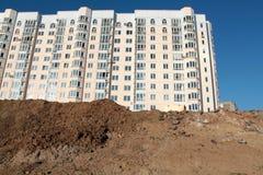 Nuova costruzione a più piani Fotografia Stock