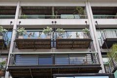 Nuova costruzione in Puerto Madero a Buenos Aires, Argentina immagine stock libera da diritti