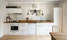Nuova cucina Fotografia Stock Libera da Diritti
