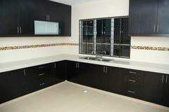 Nuova cucina vuota Fotografia Stock
