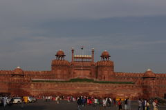 Nuova Delhi forte rossa Fotografia Stock Libera da Diritti