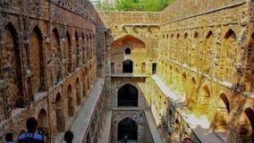 NUOVA DELHI, INDIA - 21 marzo 2019, agrasen il posto Delhi di Connaught di baoli di ki fotografia stock