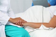 Nuova durata del concetto di aborto Immagini Stock