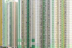 Nuova edilizia popolare di Hong Kong Fotografie Stock