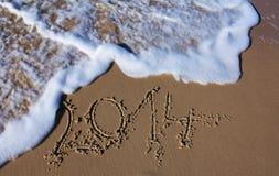 Nuova fine d'anno 2014 Fotografia Stock