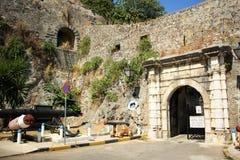 Nuova fortezza di Corfù, Grecia Immagine Stock