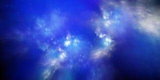 Nuova galassia illustrazione di stock