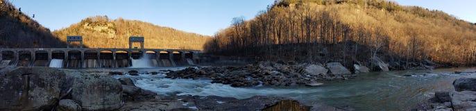 Nuova gola del fiume, I Immagini Stock