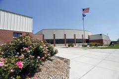 Nuova High School Immagini Stock