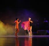 Nuova identità dei vestiti- del dramma di ballo di mistero-tango Fotografia Stock