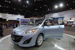 Nuova Mazda modella 2011 Fotografia Stock