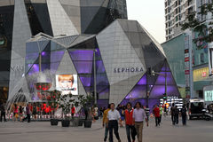 Nuova memoria Kuala Lumpur Malesia di Sephora Fotografia Stock