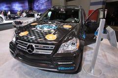 Nuova Mercedes GL 350 Fotografie Stock