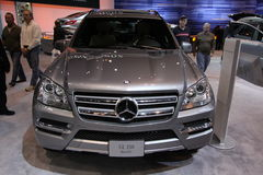 Nuova Mercedes GL-350 Immagini Stock Libere da Diritti
