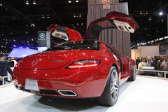 Nuova Mercedes SLS AMG Immagini Stock
