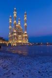 Nuova moschea a Bacu Fotografie Stock Libere da Diritti