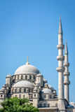 Nuova moschea (camii di Yeni) a Costantinopoli, Turchia Fotografia Stock