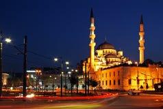 Nuova moschea, Costantinopoli Immagini Stock Libere da Diritti