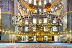 Nuova moschea Costantinopoli Fotografie Stock