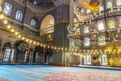 Nuova moschea Costantinopoli Fotografie Stock Libere da Diritti