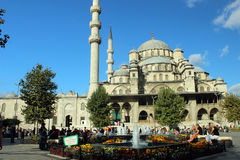 Nuova moschea, Costantinopoli, Turchia Immagine Stock Libera da Diritti
