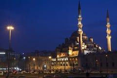 Nuova moschea a Eminonu, Costantinopoli Immagini Stock Libere da Diritti