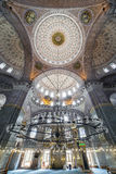 Nuova moschea in Fatih, Costantinopoli Fotografie Stock Libere da Diritti