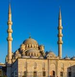 Nuova moschea in Instanbul Immagine Stock