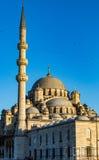 Nuova moschea in Instanbul Immagini Stock