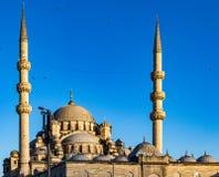 Nuova moschea in Instanbul Immagine Stock Libera da Diritti